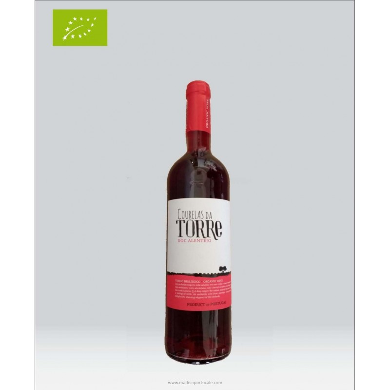 Courelas da Torre Organic Rose Wine 2017