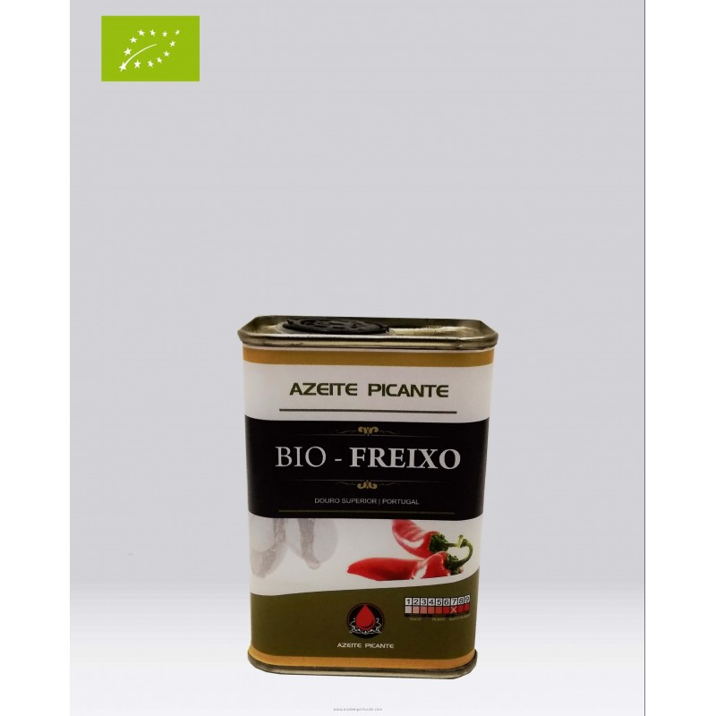 Organic Olive Oil Spicy Canned Bio Freixo