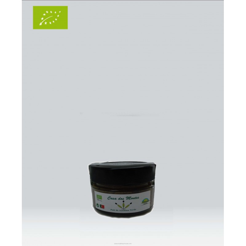 Organic Green Olive Pate 110g Casa dos Montes