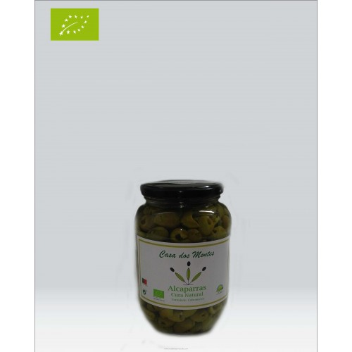 Organic Capers in Bottle 500 Grams Casa dos Montes