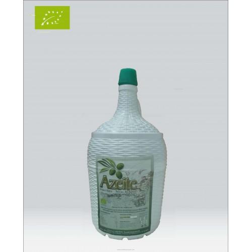 Organic Olive Oil in Glass Bottle 5 Liters Terras do Sabor