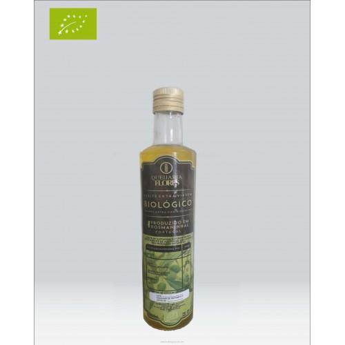 Organic Olive Oil 0,50 Liter Queijaria Flores