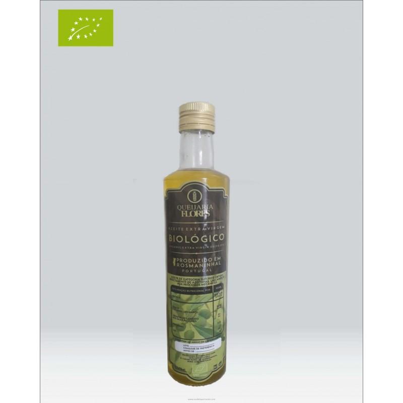 Biological Olive Oil 0,50 Liter Queijaria Flores
