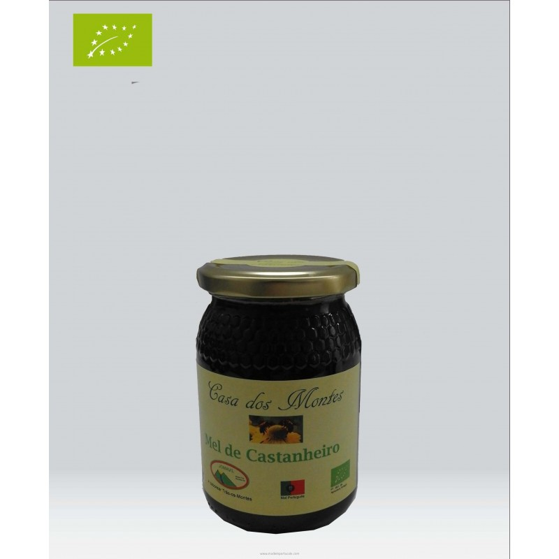 Organic Chestnut Honey 0.5 kilo