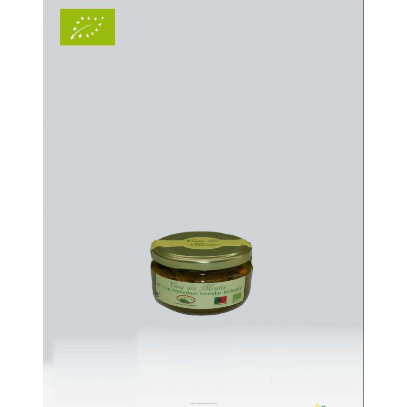 Organic Honey of Rosemary With Toasted Almonds 140 Grams