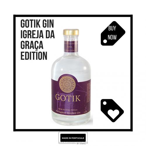 GIN GOTIK - EDIÇÃO IGREJA DA GRAÇA / 70CL 3xBOTTLE