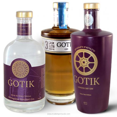 GOTIK GIN PACK 3 Labels