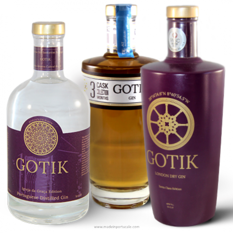 GOTIK GIN PACK 3 Labels