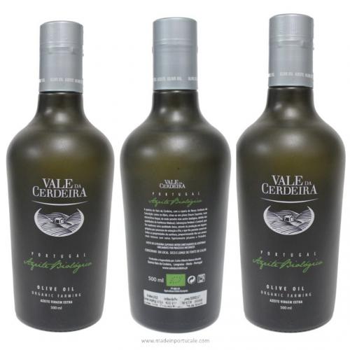 Organic Extra Virgin Olive Oil Vale da Cerdeira Pack 3