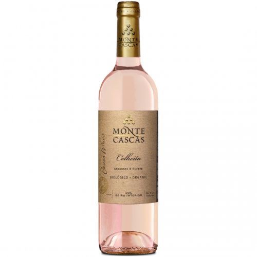 Rosé Wine MONTE CASCAS BIOLOGICAL BEIRA interior 2018