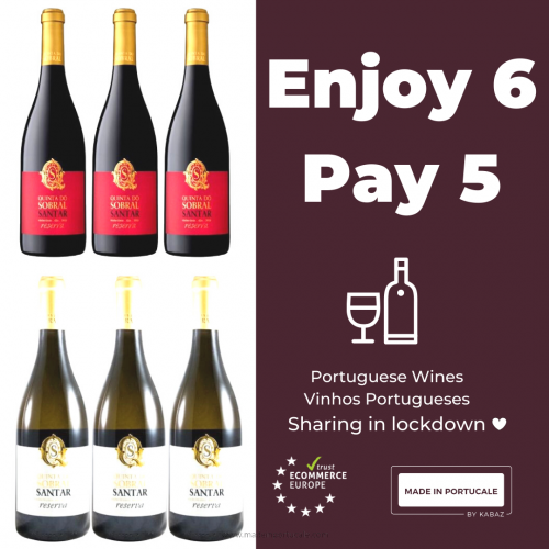 Quinta do Sobral Reserve White and Red Wine PACK 5+1