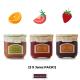 Pack Fruit Jams (01) 3 X 230Grs Strawberry+Orange+Tomato
