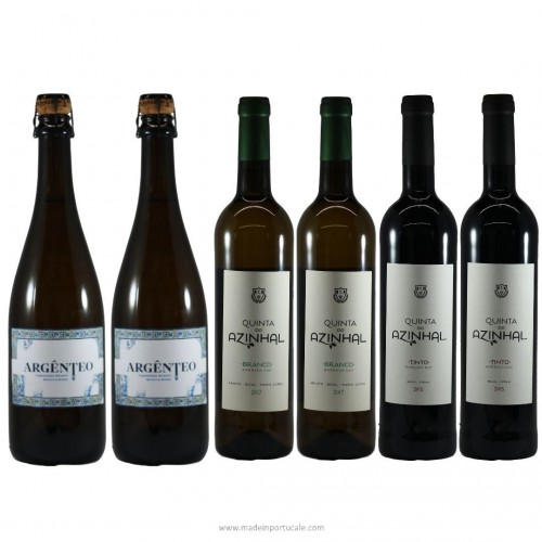 Pack de Vinhos Azinhal + Argênteo 6X750ml