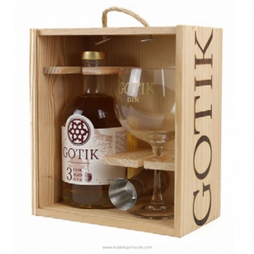 Gotik Gin São Francisco Estágio 3 meses em madeira Pack ed 2019