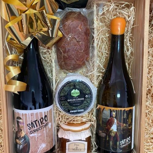 Sátiro Wine Christmas Basket 2020