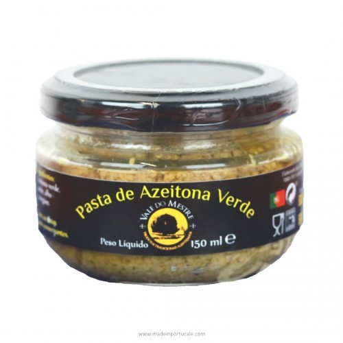 GREEN OLIVE PASTE 150 Grs Vale do Mestre