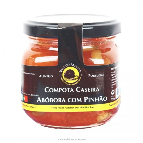 PUMPKIN JAM WITH PINE NUTS Vale do Mestre 250 Grs.