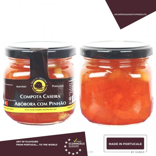 PUMPKIN JAM WITH PINE NUTS Vale do Mestre 250 Grs