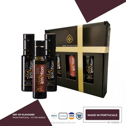 BOX DEGUSTAÇÃO Vinagre e Azeite By OliveEmotion