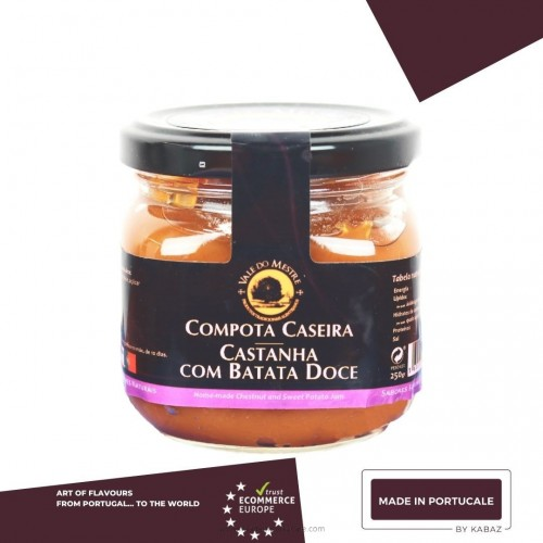 CHESTNUT AND SWEET POTATO JAM Vale do Mestre 250 grs.