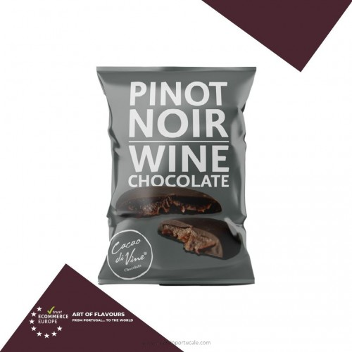 BiteSize Wine Chocolate Pinot Noir by cacao divine 40grs