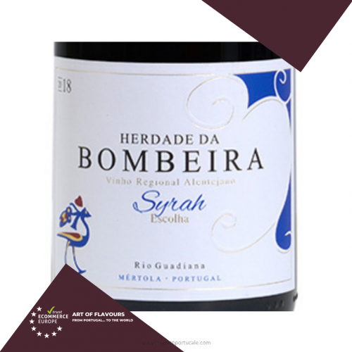 Red Wine Syrah Herdade da Bombeira 750ml.