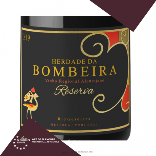 Red Wine Reserve Herdade da Bombeira 750ml.