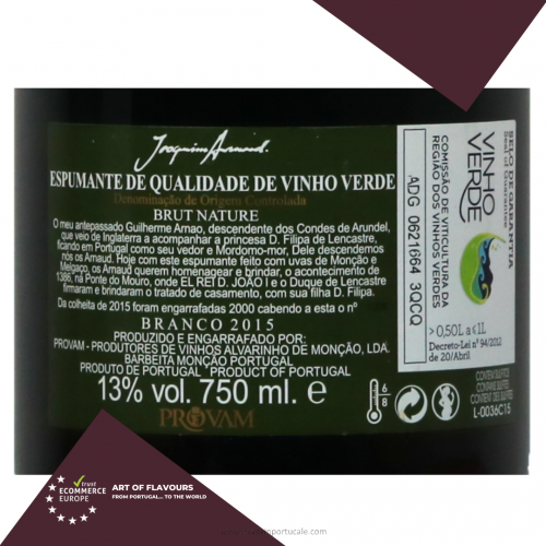 Joaquim Arnaud Sparkling Wine 2015