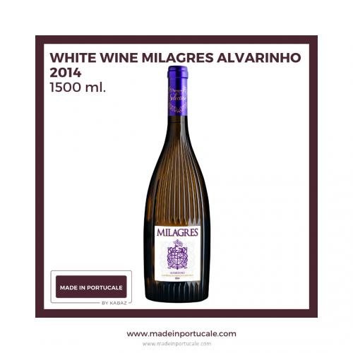 Milagres Alvarinho White Wine 2014