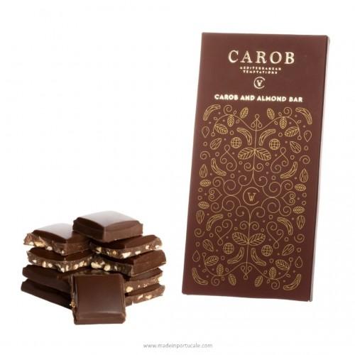 Carob And Almond Bar (100g)