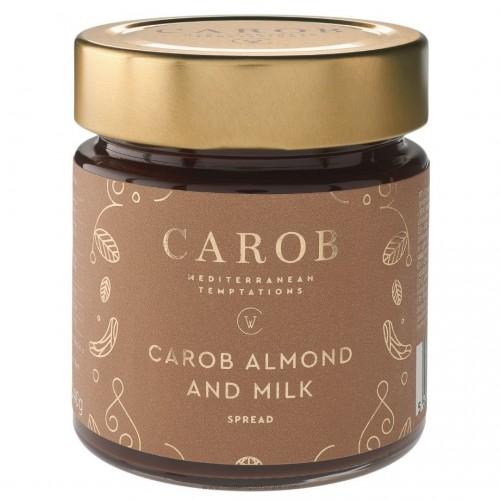 Carob, Almond and Milk Spread