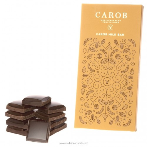 Carob and Milk Bar (100g)