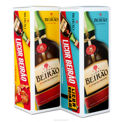 Beirão Liqueur Kit, 2 themes: PIN Up and Sign