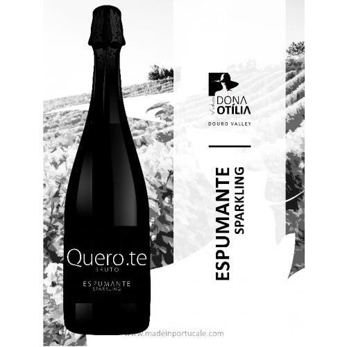 Quero.te Sparkling Wine Bruto Douro 2015