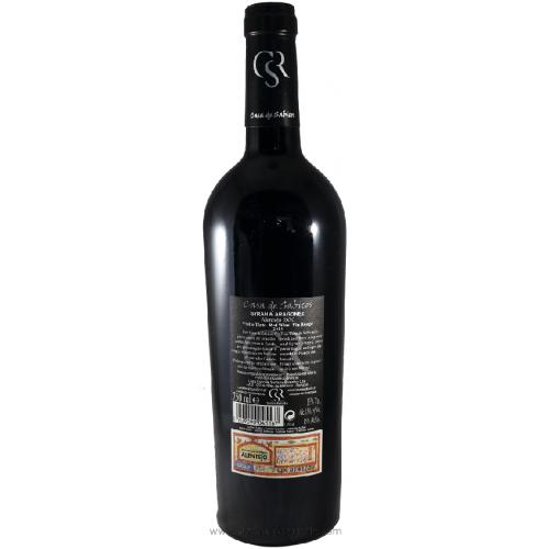 Casa de Sabicos Syrah & Aragonez - Red Wine 2012
