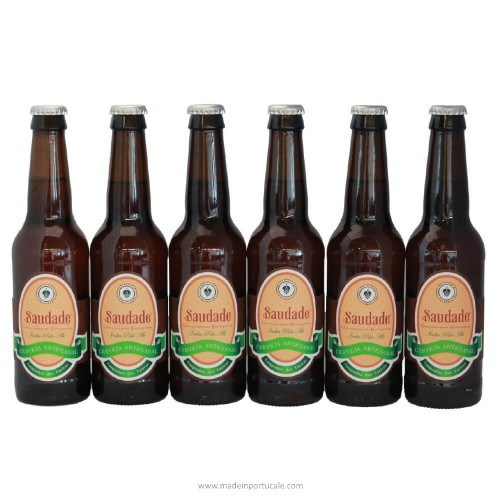 Saudade India Pale Ale Craft Beer - Pack 6