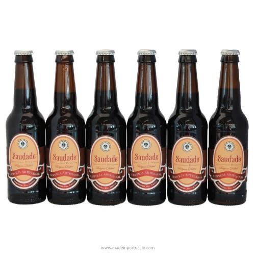 Saudade Belgian Dubbel Craft Beer - Pack 6